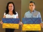 Comunidade ucraniana no Brasil manda mensagens de apoio ao país