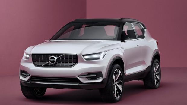 Volvo divulga imagens do conceito que dará origem ao novo XC40 (Foto: Divulgação)