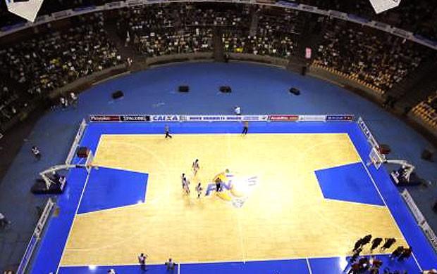 quadra basquete final NBB (Foto: Divulgação)