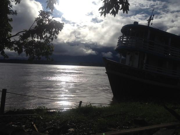 Rio Madeira RO (Foto: Ísis Capistrano/ G1)
