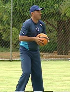 PC Gusmão, técnico do Cruzeiro em 2005/2006 (Foto: Reprodução/TV Globo Minas)