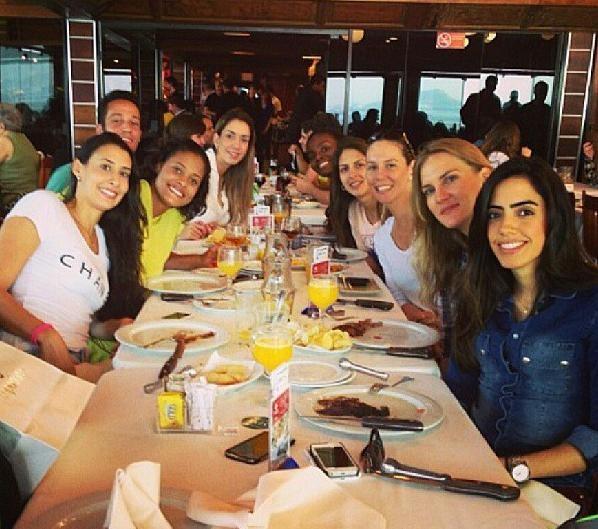 Musas se reuniram para comemorar o aniversário de Sheilla (Foto: Reprodução/Instagram)