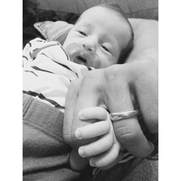 Antonio, filho de Paloma Duarte (Foto: Reprodução / Instagram)