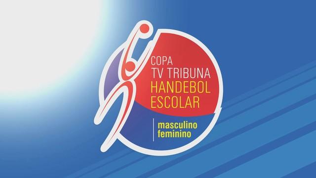 Copa TV Tribuna de Handebol Escolar (Foto: Reprodução/TV Tribuna)