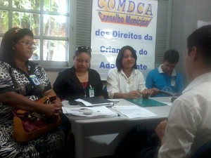 Conselho Tutelar é fechado (Foto: Kedma Araújo/G1)