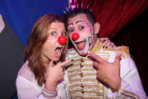 Barbara Borges no Circo Tihany (Foto: Cleomir Tavares/Mural da Fama/Divulgação)