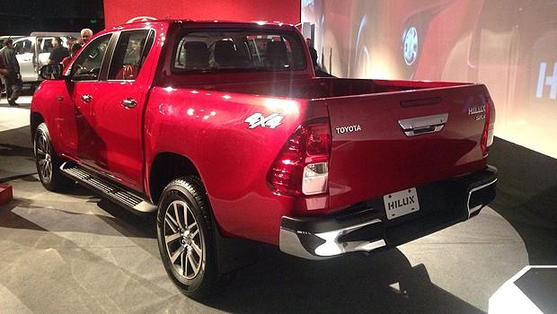 Toyota Hilux 2016 (Foto: Autoesporte/Julio Cabral)