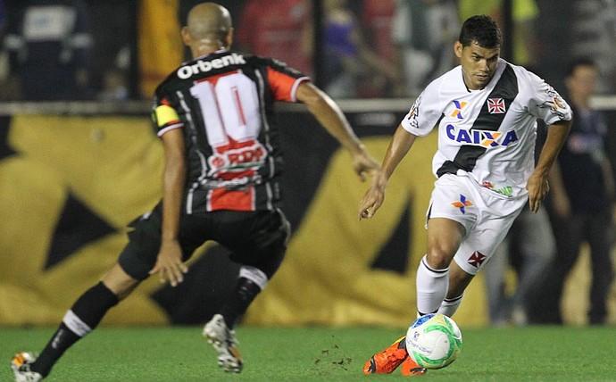 Marcelo Costa contra o Vasco (Foto: Marcelo Sadio/vasco.com.br)