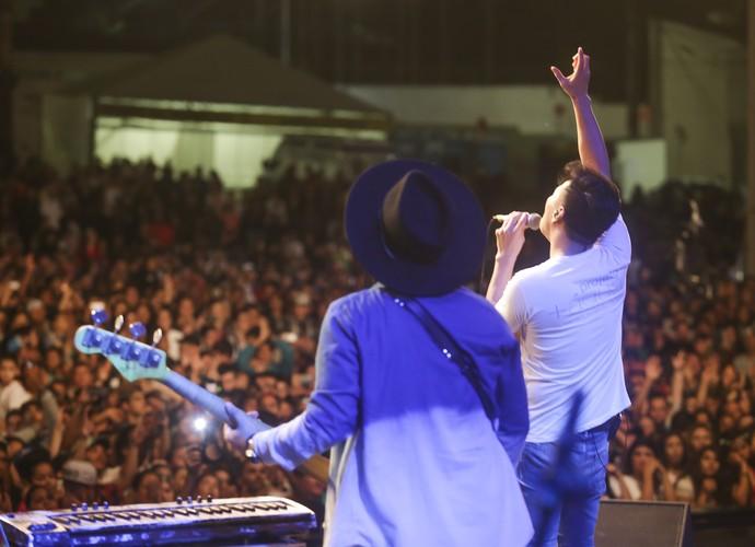 Festival Promessas em São José dos Pinhais - Juliano Son (Foto: Luiz Renato Correa / RPC)