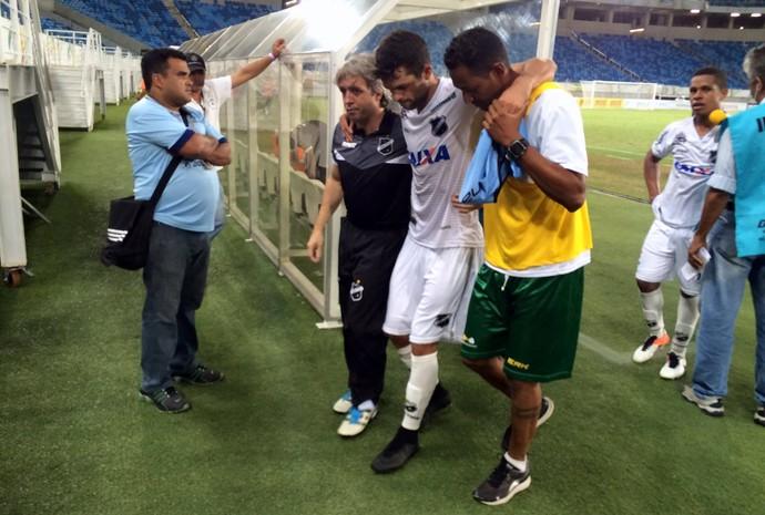 ABC - Márcio Passos, volante - lesão no joelho direito na final do returno do estadual 2017 (Foto: Augusto Gomes/GloboEsporte.com)