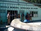 Aulas seguem suspensas em escola onde professora foi morta por major