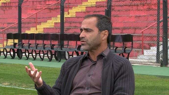 Rogério Zimmermann Brasil de Pelotas Bento Freitas (Foto: Reprodução/RBS TV)
