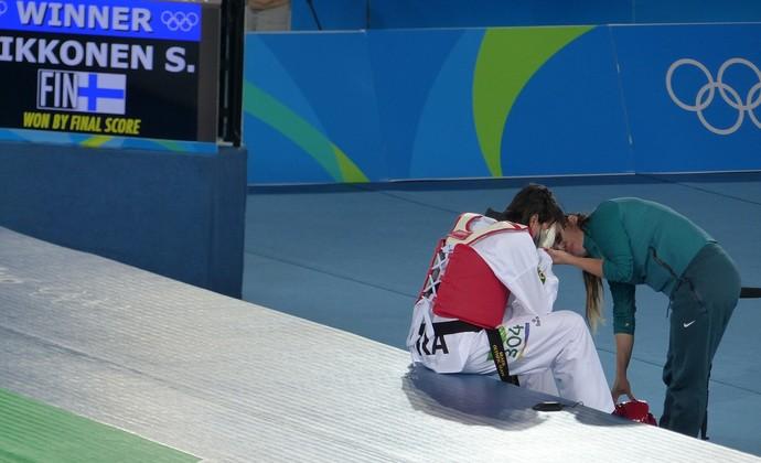 Julia Vasconcelos taekwondo Olimpíada (Foto: Silas Pereira/ GloboEsporte.com)