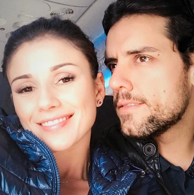 Paula Fernandes e Thiago Arancam (Foto: Reprodução)