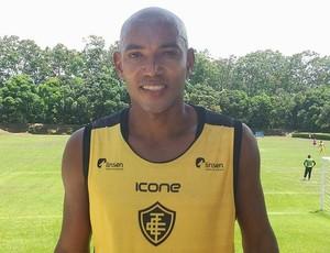 Luiz Alberto, zagueiro do Tupy-ES (Foto: Richard Pinheiro/GloboEsporte.com)