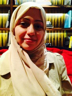 A saudita Samar Badawi (Foto: Giovana Sanchez/G1)