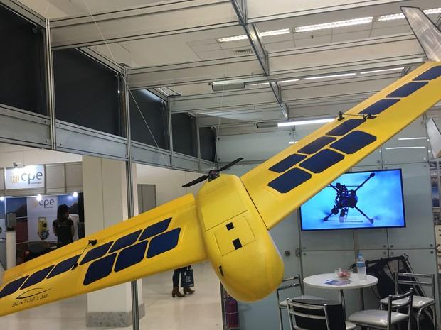 Drone Solar, da Santos Lab. (Foto: G1)