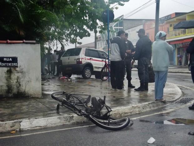 ciclista morre em maricá  (Foto: Geraldo Júnior/Site Lei Seca Maricá)