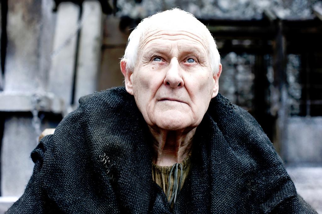 Peter Vaughan em 'Game of Thrones' (Foto: Divulgação)