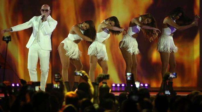 Pitbull, Pan de Toronto (Foto: Alejandro Ernesto/ EFE)