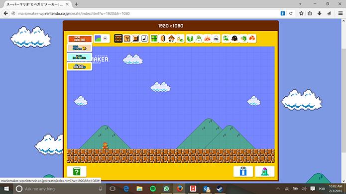 Usupario pode escolher diferentes gerações de jogos do Mário (Foto: Reprodução/Elson de Souza)