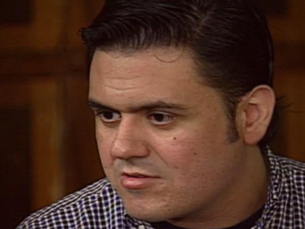 O empresário Pablo Russel Rocha, acusado de arrastar garota de programa até a morte em 1998, em Ribeirão Preto (Foto: Reprodução/ EPTV)