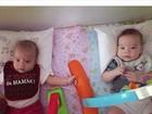 Luana Piovani mostra foto fofa dos filhos gêmeos: 'Amor de mãe'