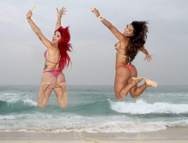 Amanda Miury e Mc Lanny (Foto: Divulgação)