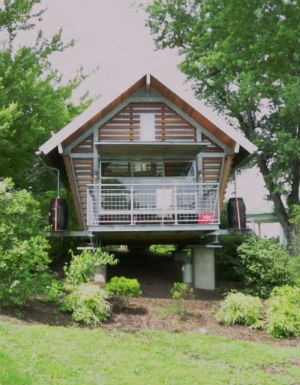 Minicasa, tiny house, Conheça o projeto premiado de uma minicasa totalmente sustentável construida em 23m²