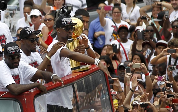 heat parade miami nba basquete (Foto: Reuters)