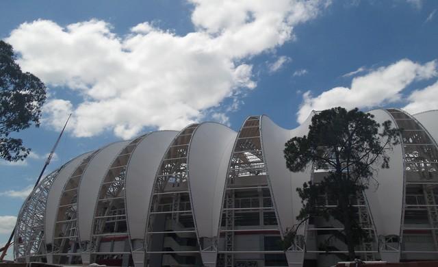 Beira-Rio Inter reforma Copa 2014 (Foto: Paula Menezes/Globoesporte.com)