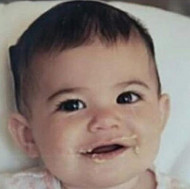 Kylie Jenner quando bebê (Foto: Reprodução/Instagram)