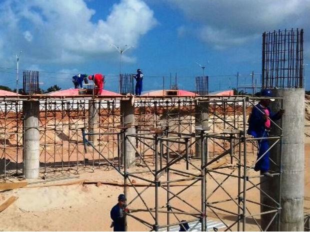Obras do anel viário avançam na Zona Norte de Natal (Foto: Silvia Talita/Assecom-RN)