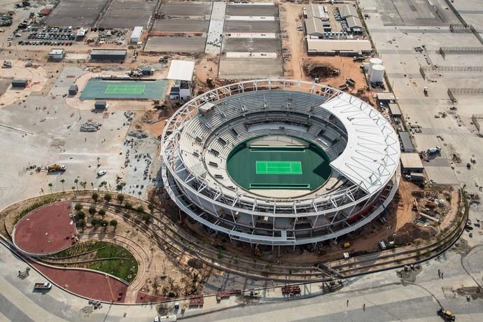 Centro de Tênis no Parque Olímpico (Foto: Renato Sette Câmara/Prefeitura do Rio)