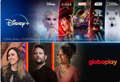 Combo Globoplay e Disney+ (Globoplay)