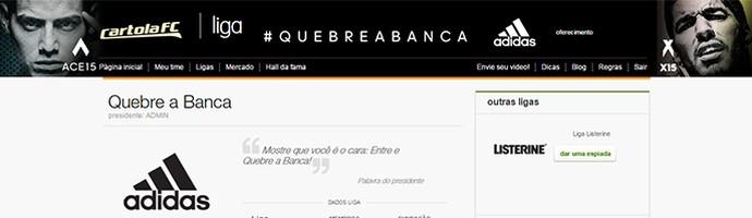 Quebra a Banca CARTOLA (Foto: infoesporte)