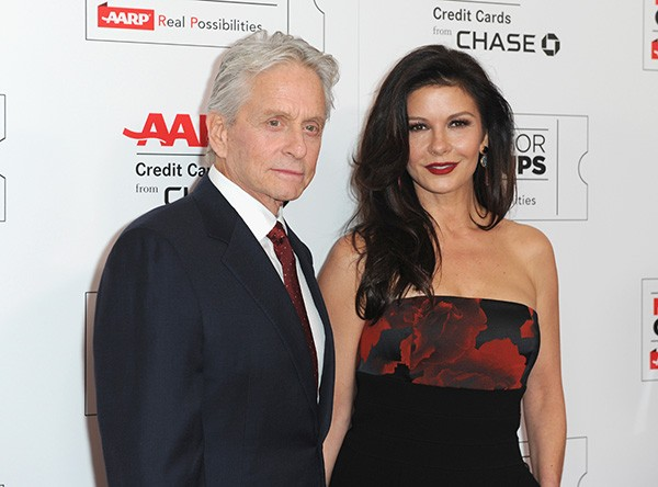 Catherine Zeta-Jones e Michael Douglas (Foto: Getty Images)