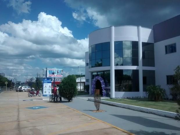 Crianças e mulheres de todo cone sul serão atendidas Centro de Saúde (Foto: Jonatas Boni/G1)