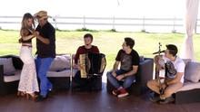 Waldonys, França, Luís Marcelo & Gabriel e Ohara Ravick cantam (Reprodução / TV Verdes Mares)