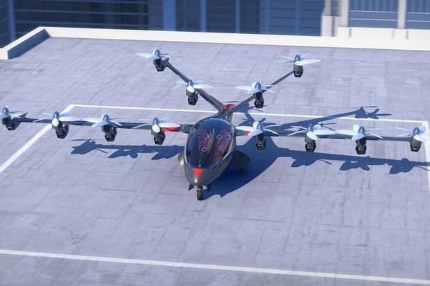 Projeto de carro voador Uber Elevate (Foto: Divulgação)
