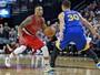Green, Curry e Thompson superam os Blazers na 34ª vitória dos Warriors