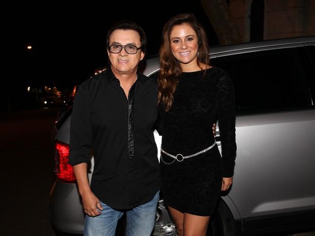 Chitãozinho com a mulher, Márcia, em festa em São Paulo (Foto: Manuela Scarpa/ Foto Rio News)