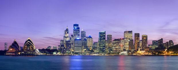 (Foto: Wikimedia Commons / Diliff / http://commons.wikimedia.org/wiki/File:Sydney_skyline_at_dusk_-_Dec_2008.jpg )