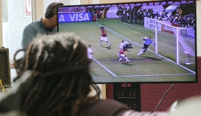 Tinga Inter Libertadores (Foto: Eduardo Deconto/GloboEsporte.com)