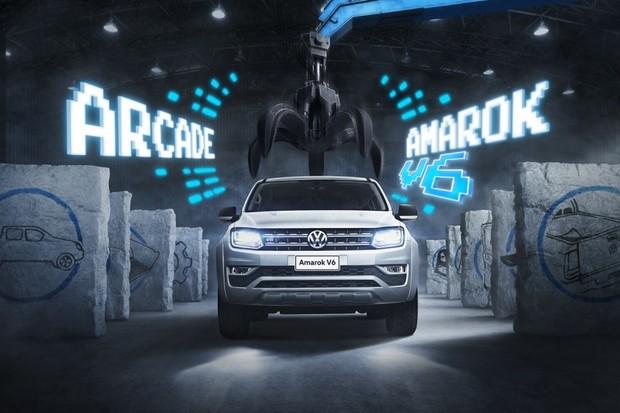 450 primeiros compradores poderão participar do Arcade Amarok V6 (Foto: Reprodução)