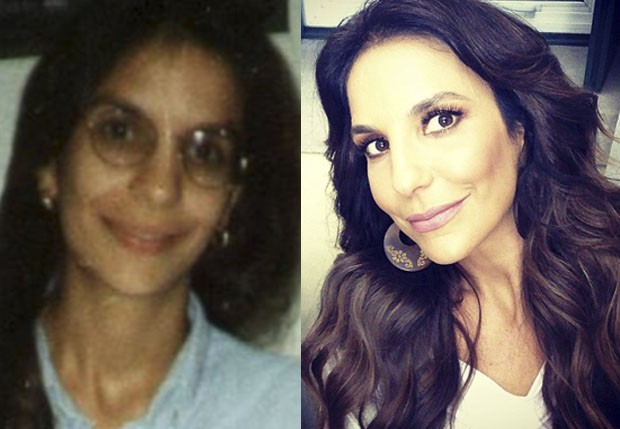 Ivete Sangalo antes e depois (Foto: Reprodução/Instagram)