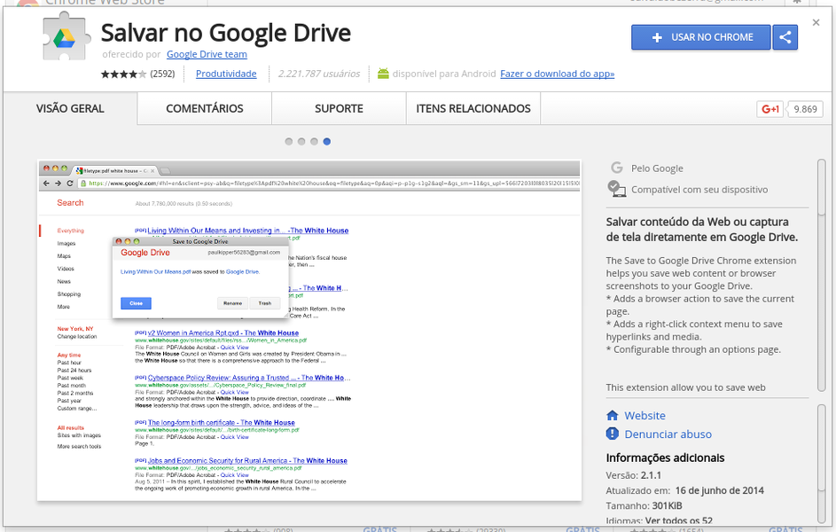 how to save to google drive
