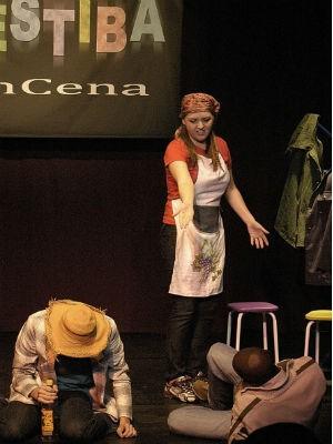 Peça Vestiba EnCena terá única apresentação neste fim de semana  (Foto: Divulgação / Teatro Barracão EnCena)