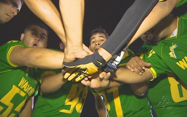 Time do Ajuricaba Warriors é um dos competidores (Foto: Bom Dia Amazônia)