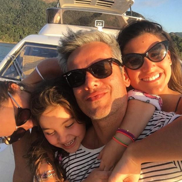 Flávia Alessandra, OLívia, Otaviano Costa e Giulia Costa (Foto: Reprodução/Instagram)